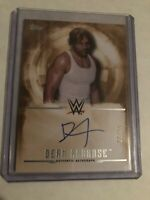 WWE TOPPS 2017 Undisputed Bronze Dean Ambrose Autograph. /99 Auto