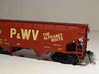 INTERMOUNTAIN 47174-04 P&WV 2-BAY HOPPER ROAD #380 PITTSBURGH & WEST VIRGINIA