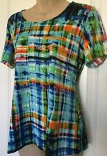 TRAVELSMITH  MULTICOLOR WOMEN'S TOP  Size Small   NEW