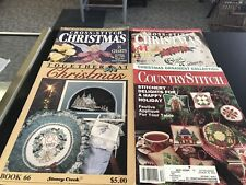 Lotif 4 Cross Stitch Magazines Christmas Editions