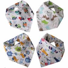 Baby Drible Baberos 3 Pack Nuevo M/&S Suave Algodón Bandana ajustable con automáticos