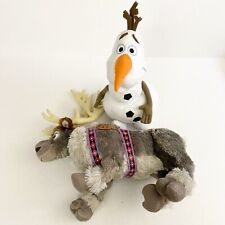 Frozen 2 Olaf and Sven plush dolls