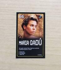 CARD ESSELUNGA - STARZONE 2011 - CARD N°66  MARIA GADU' - STARS DELLA MUSICA