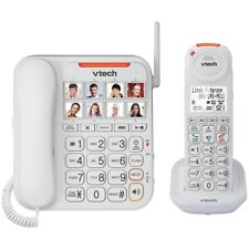Vtech Amplified Corded/Cordless Answering System, Big Buttons & Display Vtsn5147