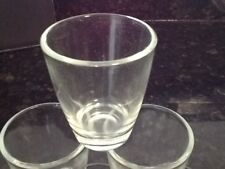 6 Shot Glasses Glass 1 oz Barware Whiskey Tequila Firewater 1/2 Doz Vodka