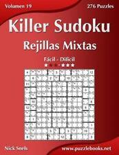 Killer Sudoku: Killer Sudoku Rejillas Mixtas - de Fácil a Difícil - Volumen...
