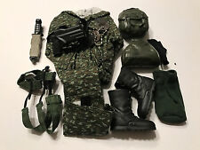 Military Uniform Weapons Accessories for 1/6 Scale Action Figure GI Joe Lot #214