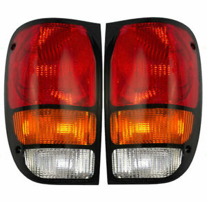 FIT FOR MAZDA B2300 2500 1994 - 2000 REAR TAIL LAMP RIGHT & LEFT PAIR SET
