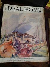 IDEAL HOME MAGGIO 1947 RIVISTA ORIGINALE VINTAGE ARREDAMENTO HOME GARDENING