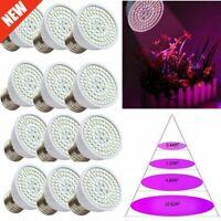 80LED Full Spectrum E27 LED Grow Light Bulb Lamp for Veg Bloom Indoor Plant Home