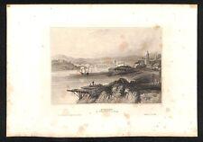 alter Stahlstich, Australien Sydney ca. 1840 #H185
