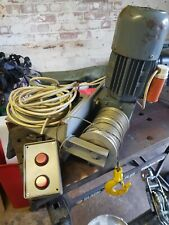 More details for 240v garage roof wire rope hoist