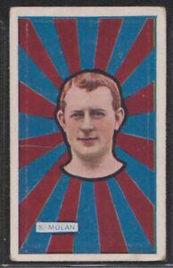 J.J.Schuh Magpie Australian Footballers 1925 #12 S.Molan - Fitzroy Lions