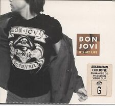 Bon Jovi - Its My Life CD WITH FOLD OUT POSTER