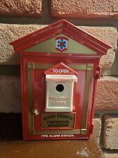 Gamewell Fire Call Box Replica Bank.  First Gear Inc. 1999