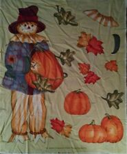 SCARECROW fabric panel to make a fall craft project  Cute..Daisy Kingdom..NEW