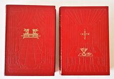 LA SACRA BIBBIA SECONDO LA VULGATA MONS. A MARTINI - TAVOLE  DORE' 1950 GARZANTI