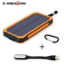 X-DRAGON Solar Power Bank 15000mAh Mobile External Battery Portable Charger