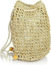 New Boho Backpack - Womens Girls Straw Bag Accessory - US Seller