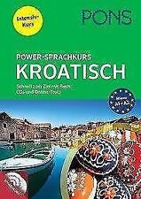 PONS Power-Sprachkurs Kroatisch (2017, Taschenbuch)