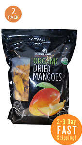 Kirkland Organic Dried Mango 2.5 LB 2 PACK