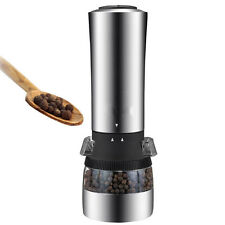 New Electric Pepper Mill Salt And Pepper The Grinder Kitchen Tools LJAU