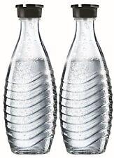 SodaStream DuoPack Glaskaraffe für Crystal und Penguin Wassersprudler (spül
