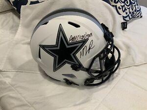 Micah Parsons Dallas Cowboys Signed Riddell Full Helmet Fanatics COA