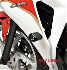 Honda CBR250R 2011 R&G Racing Aero Crash Protectors CP0285BL Black