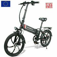 Samebike 20LVXD30 350W Motor Folding Smart Electric Moped E-Bike 35km/h Speed