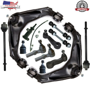 19 Pcs Complete Front Suspension Kit For 2001 2010 Chevy Silverado 2500 HD 8 Lug