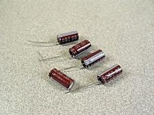 New Listingfive Panasonic Kxg 68uf 450v 105c Electrolytic Capacitors Radial Long Leads