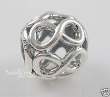INFINITE SHINE Authentic PANDORA Sterling Silver INFINITY SIGN Charm/Bead NEW