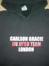 GRACIE JIU JITSU LONDON HOODED SWEATSHIRT LARGE L . BJJ UFC MMA KSW GYM BOXING