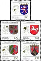 BRD (BR.Deutschland) 1660-1664 (kompl.Ausgabe) gestempelt 1993 Wappen