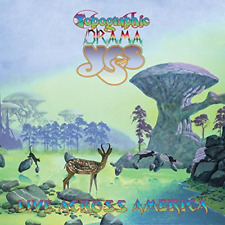 YES-TOPOGRAPHIC DRAMA - LIVE ACROSS AMERICA-JAPAN 2 CD G35