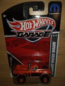 Hot Wheels '70 Dodge Power Wagon-2011 Garage Series Set #05/15 in Orange w/RR's
