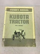 Kubota B6000 Tractor Owners Manual Original Factory Manual Catalog
