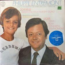 DOHNANYI-VARIATIONS-STRAUSS-BURLESKE-ENTREMONT-Original 1980 CBS Vinyl-SEALED