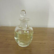 1/12 scale Dolls House Square Glass Decanter White Wine   British Made  DHD87W