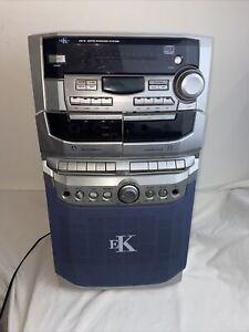 Essential Karatoke Cd, Tape & Radio System Plus 8 Cd 35 Watts Silver