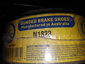 BRAKE SHOES N1828 - SUZUKI WAGON 'R' R PLUS R+ 1992 - ON REAR