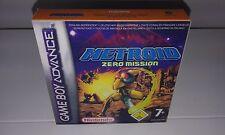METROID ZERO MISSION (ADVANCE) (CAJA + INTERIOR) (ONLY BOX)