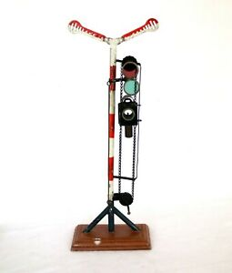 AC2059: Vintage Marklin Gauge1 Semaphore Signal with Two Arms 02314