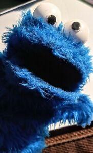 Vintage 80 Cookie Monster Hand Puppet Sesame Street Jim Henson Child Guidance