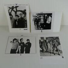 """U2 - 4 original 5"""" x 7"""" press photos"""
