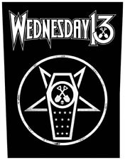 Wednesday 13-dos écusson Backpatch What the night Brings