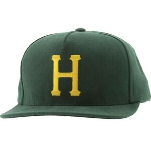 Huf Classic H Brushed Canvas Cap (forest green)