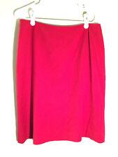 I-N-C Inernational Concepts PETITE size 12 p women's ladies red work dress skirt