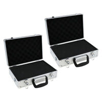 2pcs Case with Foam for JR FUTABA FLYSKY Remote Control Transmitter Receiver
